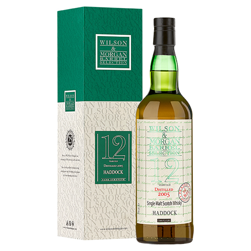 Haddock single malt (2005-18) 12 år Peated