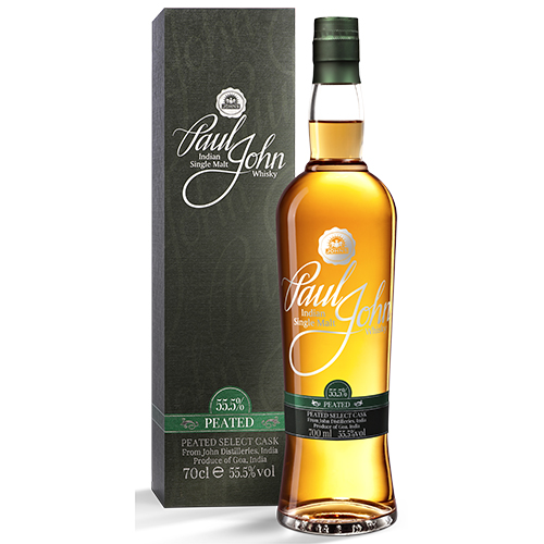 Paul John Peated single malt whisky c.s.