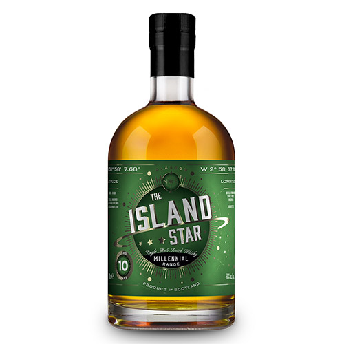 Island Star 10 år Single Malt - North Star