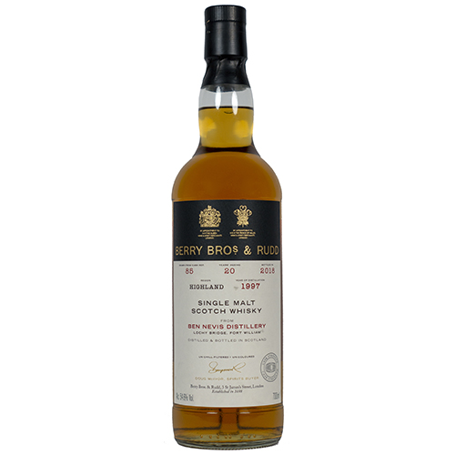 Ben Nevis 1997 single malt 20 år  - Highland