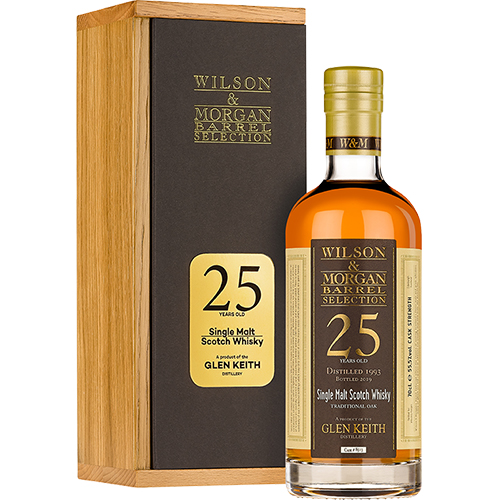 Glen Keith single malt 25 år 1993-19 W&M