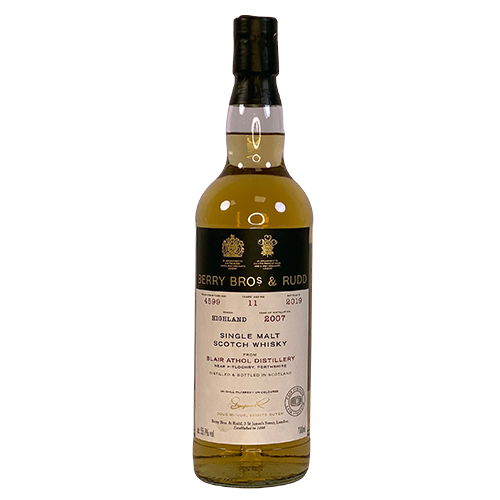 Blair Athol 2007 Single Malt Whisky  - Berry`s Own