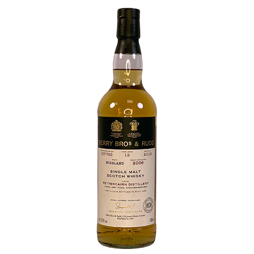 Fettercairn 2006 single malt 12 år  - Berry`s Own