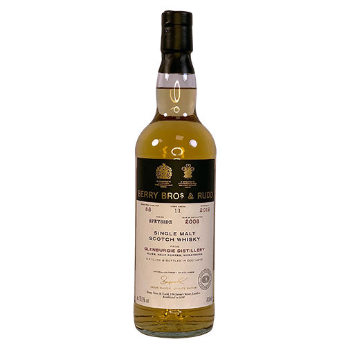 Glenburgie 2008 Single Malt Scotch Whisky  - Berry`s Own