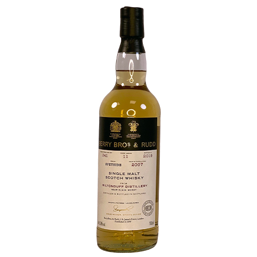 Miltonduff 2007 Single Malt Scotch Whisky  - Berry`s Own