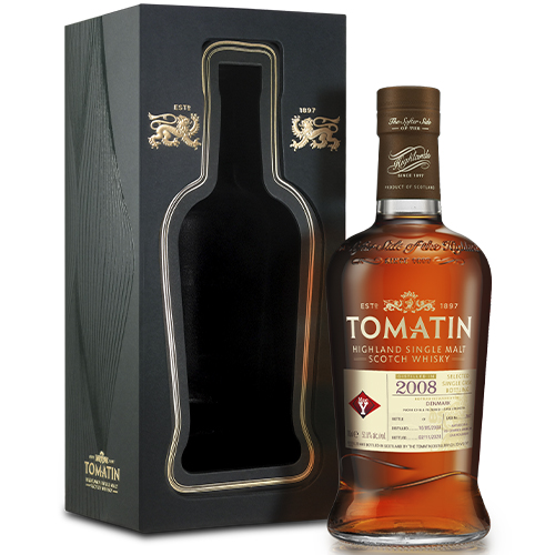 Tomatin 2008 Recharred American Oak Hogshead Scotch Whisky