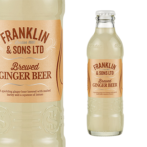Franklin & Sons Ginger BEER Tonic Water
